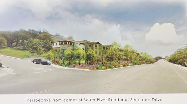 Assisted living home artist rendering