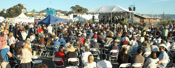 Attendees enjoying live entertainment at a prior year's festival. Courtesy photo.