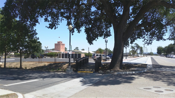 The new Pine Street Park and Ride Lot. Courtesy photo.