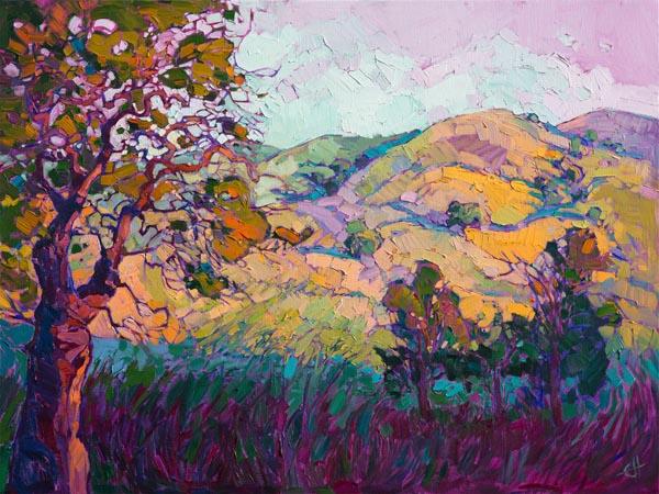 erin hanson painting Jewel Light