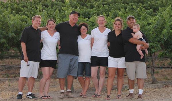 The Record family: Chris, Tricia, Randy, Anne, Mindy, Madelynn, Joel and Joel Jr.