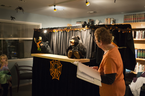 Atascadero United Methodist Church's annual Halloween carnival includes an original puppet show. Photo by Mark Rehfield