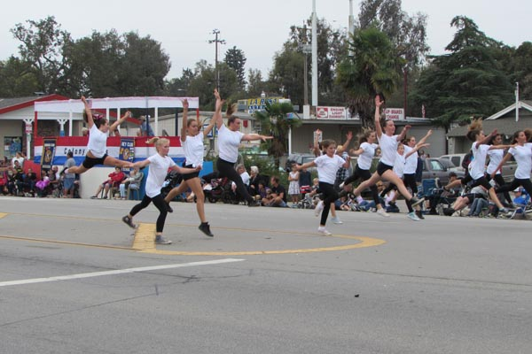 Dancers from the Atascadero Fine Arts Academy.