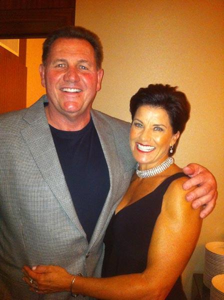 Dennis and Teresa Harrah.