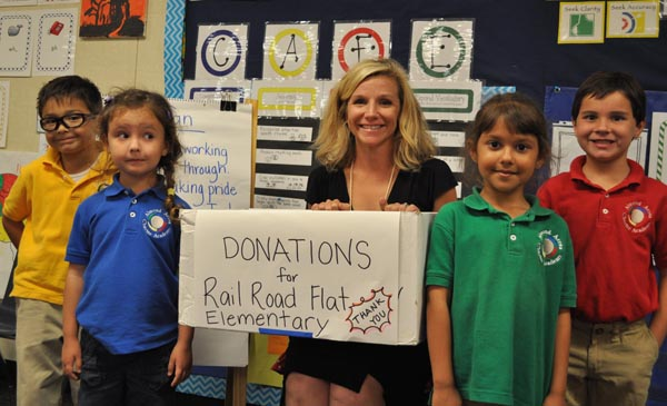 Donations for rail road flat elementary