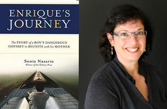 "October's book will be ""Enrique's Journey,"" by Sonia Nazario."