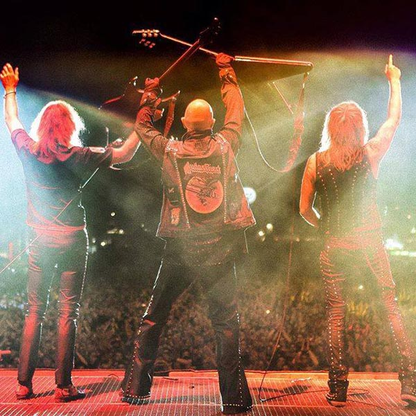 Judas Priest performing in a recent concert in Las Vegas. Photo from Facebook.