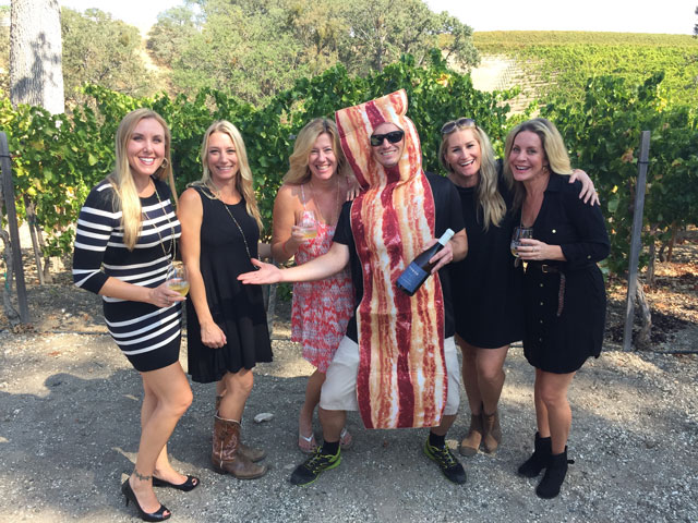 Bacon and wine make for a great pairing at annual event ...