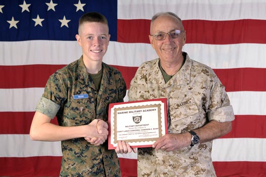 paso robles native rush cadet of the month