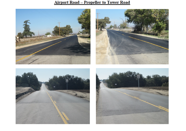 Airport road project Paso Robles