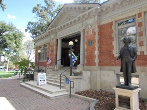 The Carnegie Library in downtown Paso Robles.