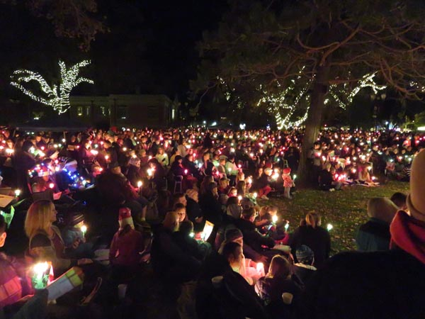 Holiday lighting ceremony paso robles 2015