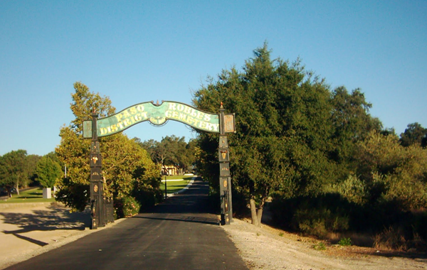Paso Robles cemetary