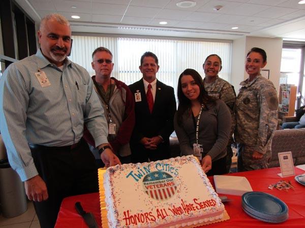twin cities veterans day