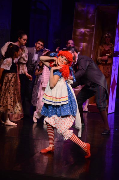 Grace Shirley, 12-years-old, wowed the audience with her performance as the Raggedy Ann Doll. Photos courtesy Jimmy De Photography.