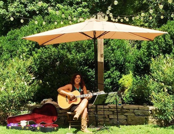Amy Estrada at Belle Meade Winery in Nashville