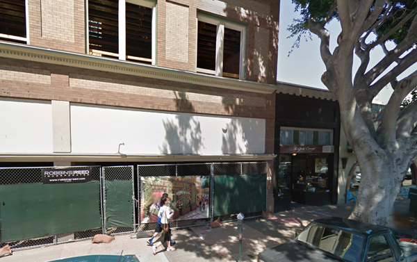 The new SLO Brew is slated to open early 2016 at 736 Higuera Street, just a few hundred feet away from the original Garden Street location and still in the heart of downtown San Luis Obispo. Photo from Google Maps.