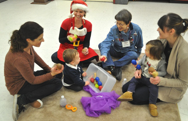 Paso Robles Recreation Department, Centennial Park, Kindermusik, Nancy Knox, Heather Stephenson, Meagan Friberg