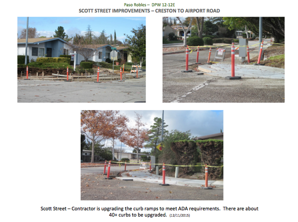 Scott Street improvements