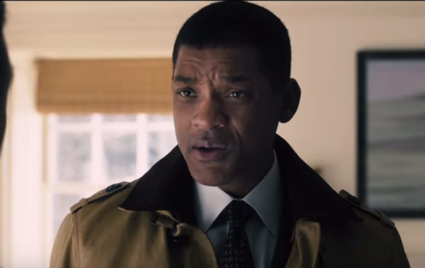 """Actor Will Smith stars in the new movie """"Concussion."""""""