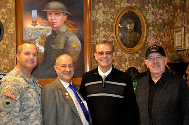 Paso Robles Mayor Steve Martin, Camp Roberts Historical Museum, Gary McMaster, Lieutenant Colonel Kevin Bender, Tom Taylor, Meagan Friberg