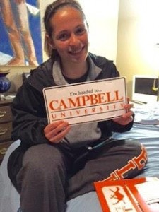 Marcove is heading to Campbell University.