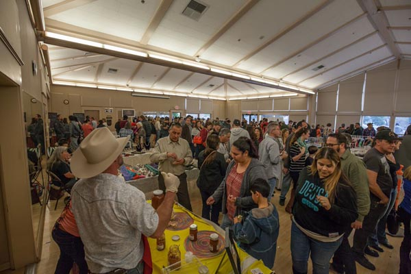 Crowds filled the Pavilion on the Lake for the first ever Atascadero Tamale Festival. Photos by Rick Evans.