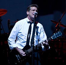 Glenn Frey performing with the eagles in 2008.