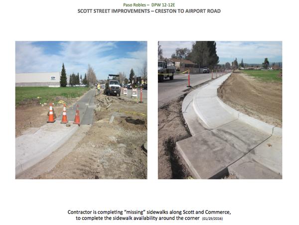 Scott St. Improvements