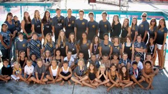 The North County Aquatics swim team.