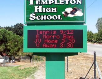 Templeton High School placed on lockdown Friday