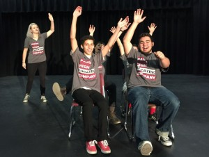 Paso High Theatre Company, Advanced Drama, Broadway Bound Workshop, Marcy Goodnow, Ren Callahan, Daniel Vigil, Graham Farrell, Jordan Davis, Memo Rendon