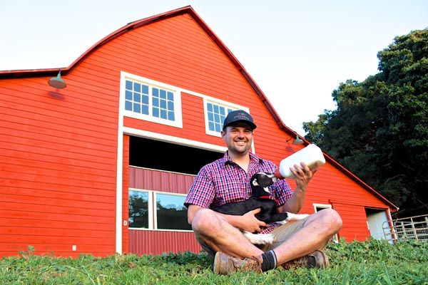Jack Rudolph is the manager of Stepladder Creamery.