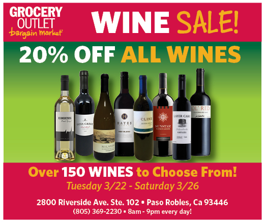 PRDN Grocery Outlet WINE SALE Mar 2016
