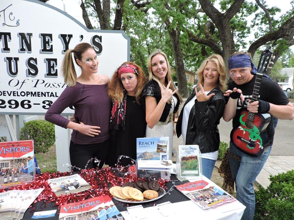 The crew at Access Publishing. Tessa Eberle, Skye Ravy, Beth Brennan, Stephanie Musselman and Noah Cyrns.