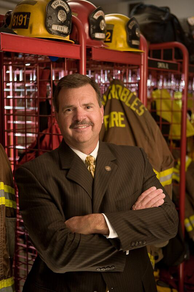 Ken Johnson fire chief
