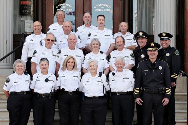 Members of the Paso Robles Police Department's Community Volunteer Patrol Program.