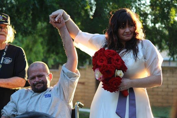 Paso robles man organ failure wedding