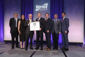 Sierra Vista Regional Medical Center  Receives Top Honor from Tenet Healthcare