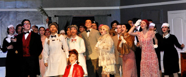 Paso High Theatre Company, The Drowsy Chaperone, Marcy Goodnow, Meagan Friberg