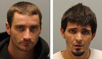 Jeremy Matthew Sundahl, 27, of Paso Robles, and Jordan Nogo, 25, of Paso Robles.