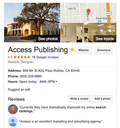 paso robles search engine optimization