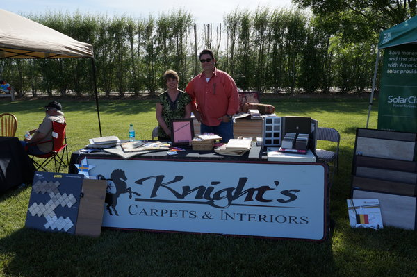 Knight's Carpets and Interiors at the expo.
