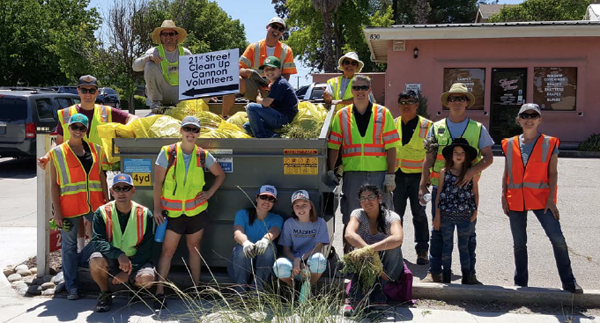 21st street clean up paso robles