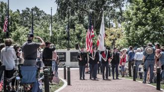 Faces of freedom atascadero memorial day