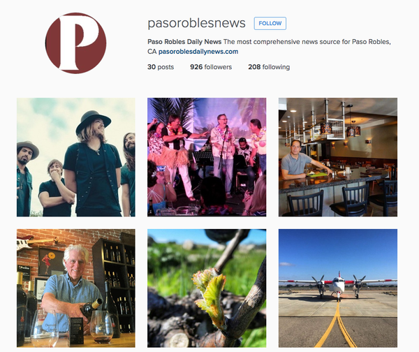 Paso Robles Daily News on Instagram