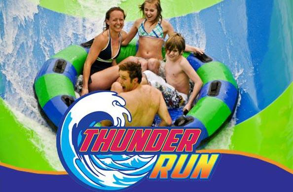 Thunder run the ravine
