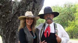 Billy and Sue Ruiz of  cooking show Cowboy Flavor.