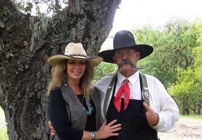 Billy and Sue Ruiz of  cooking show Cowboy Flavor.