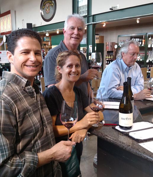 Paso Robles wineries featured at The Green Jug in Woodland